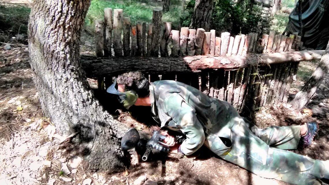 PAINTBALL ADULTES - Terrain forêt dans la commune de Cuers (département du VAR 83)