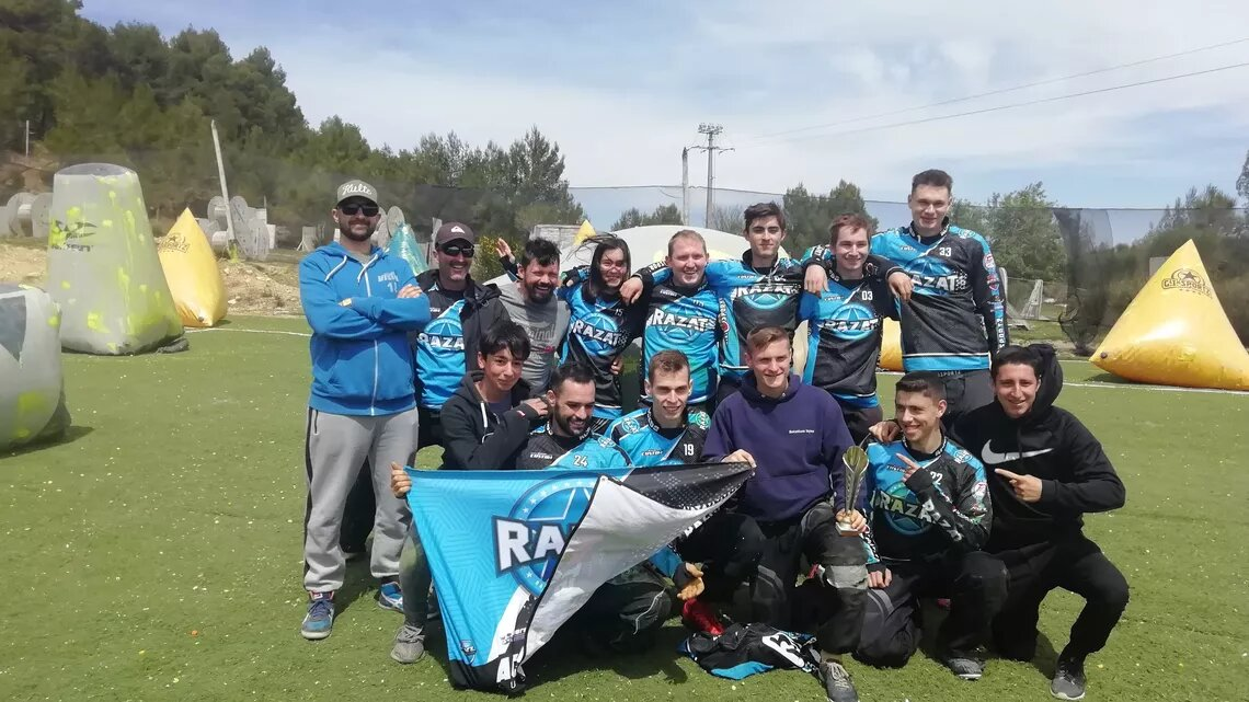 Team RaZat 1 et 2 - 1er et 5eme ligue PACA 2018/19