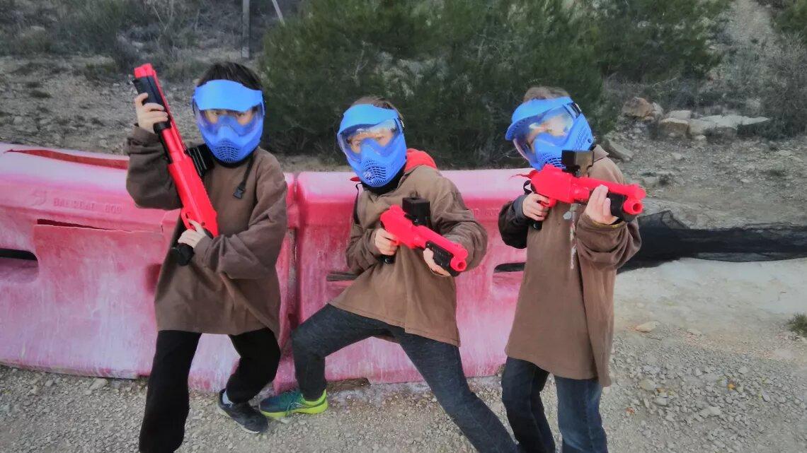 Paintball Enfants (Aucune douleur)